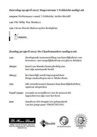 't Veldzicht - Karel Van Mander feesten